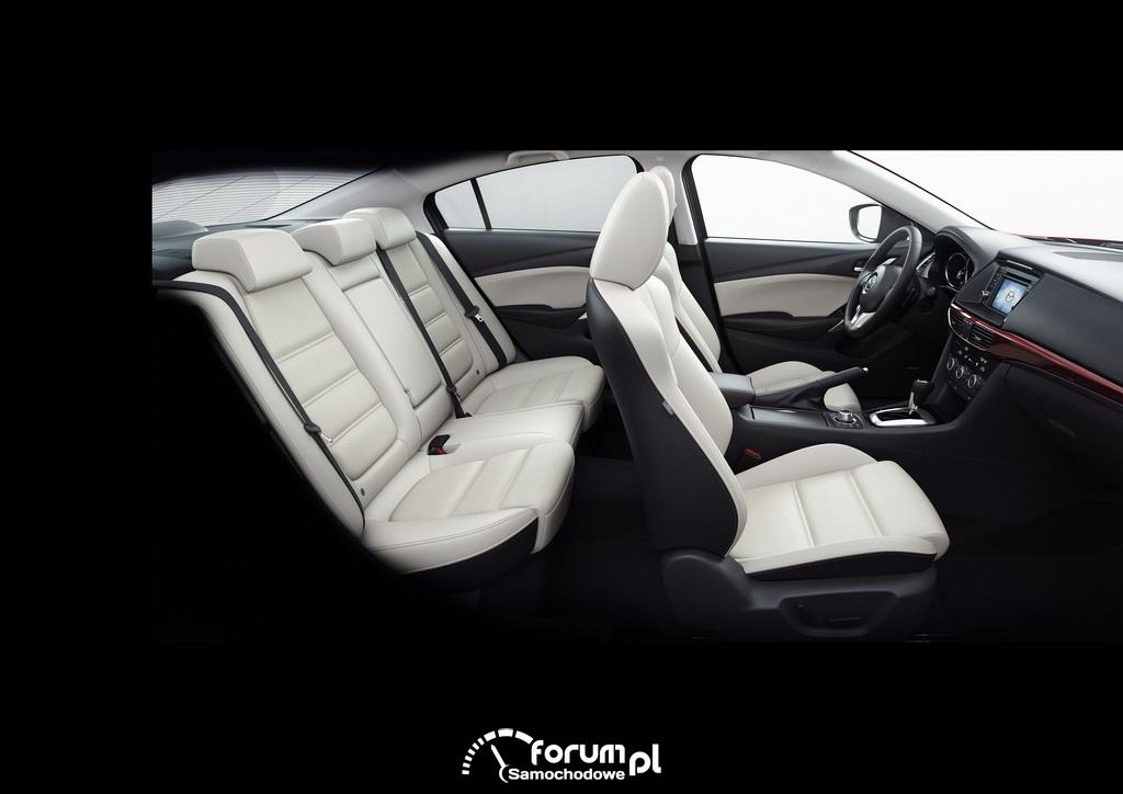 Wnętrze, Mazda6, Sedan, 2012, 2