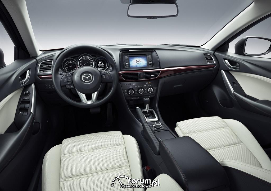 Wnętrze, Mazda6, Sedan, 2012