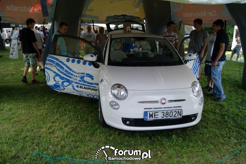 Fiat 500 - Car audio