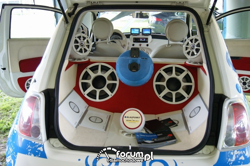 Fiat 500 - Car audio