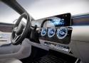 Mercedes-Benz A klasa, ekran cyfrowy