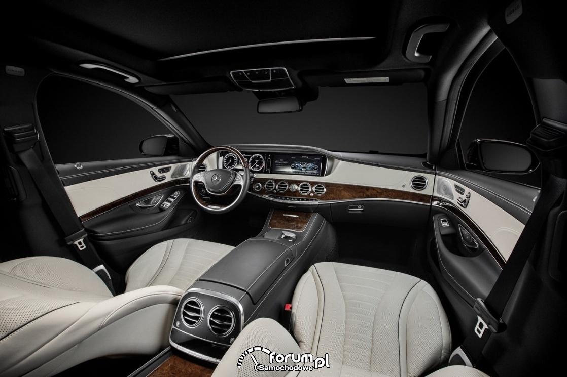 Mercedes-Benz S Class W222, wnętrze