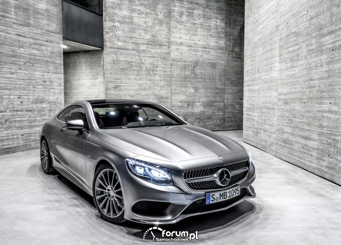 Mercedes-Benz S-Klasa Coupe ogólnie zewnatrz