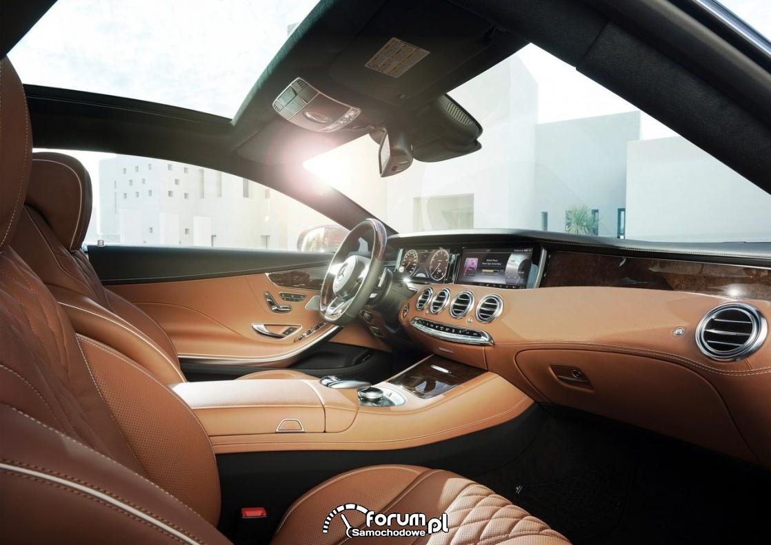 Mercedes-Benz S-Klasa Coupe środek