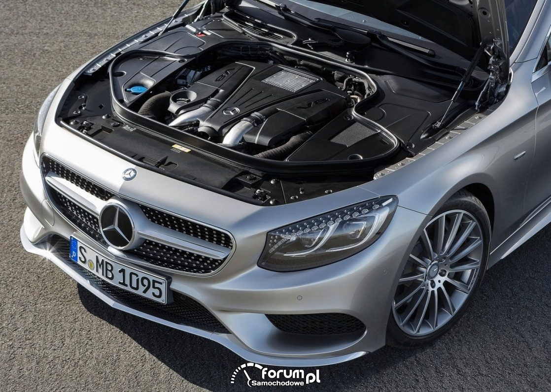 Mercedes-Benz S-Klasa Coupe szczegoly zewnatrz