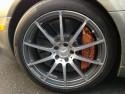 Mercedes-Benz SLS AMG, alufelgi i zaciski hamulcowe