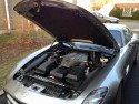 Mercedes-Benz SLS AMG, otwarta maska i komora silnika