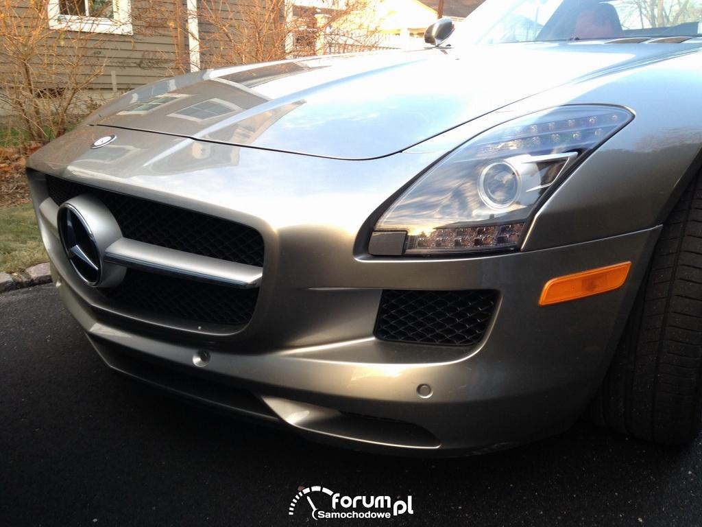Mercedes-Benz SLS AMG, przód