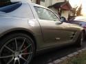 Mercedes-Benz SLS AMG, uchylona klamka drzwi
