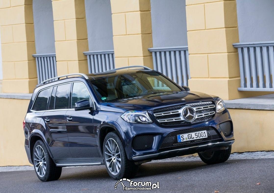 Mercedes GLS - 7-miejscowy SUV klasy premium
