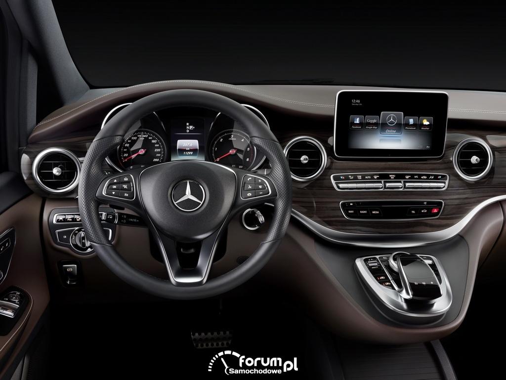 Mercedes Klasa V, wnętrze