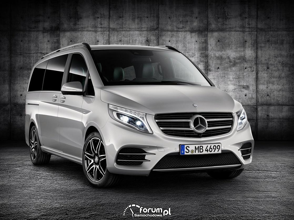 Mercedes Klasy V z pakietem AMG