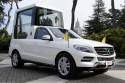 Papamobile Mercedes-Benz dla papieża Benedykta XVI