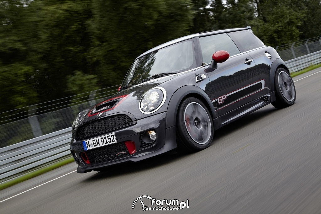 MINI John Cooper Works GP na torze Nurburgring