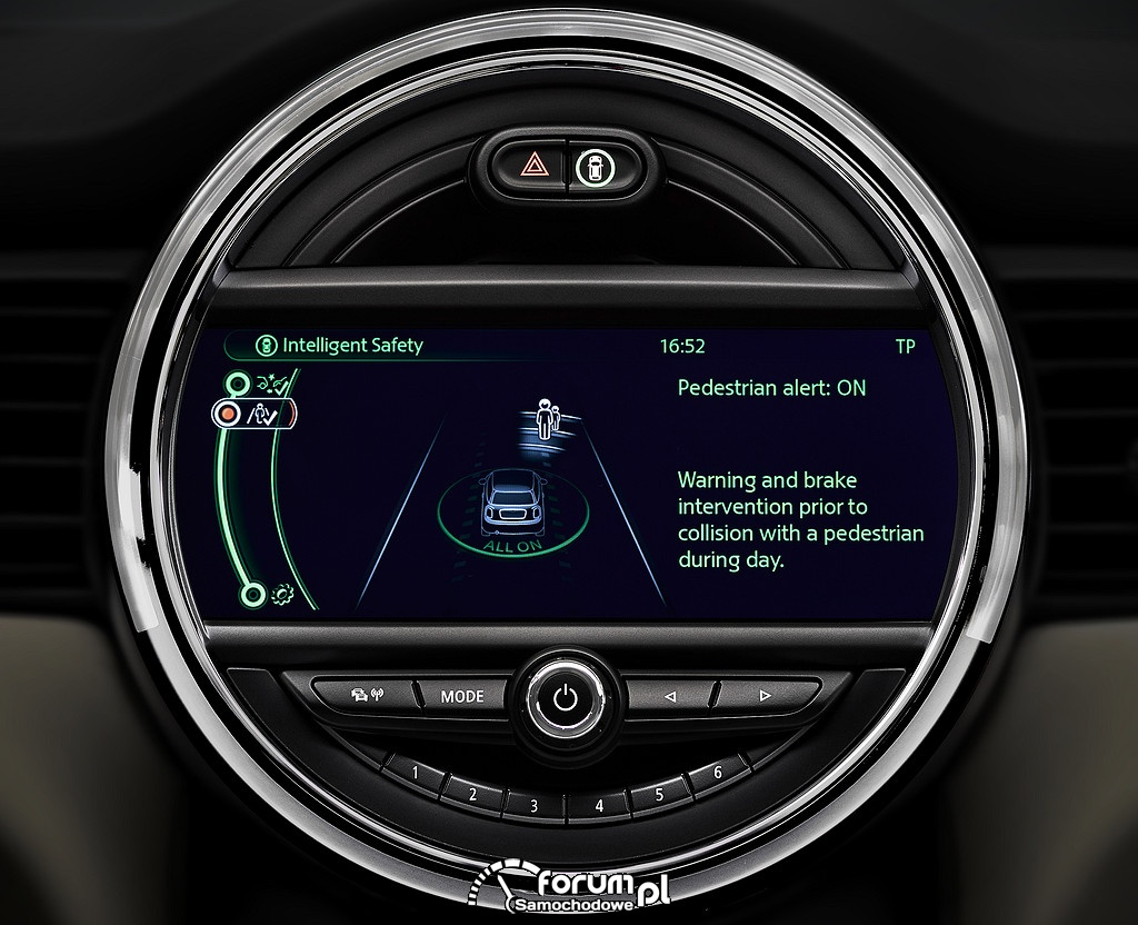 Driving Assistant w nowym MINI