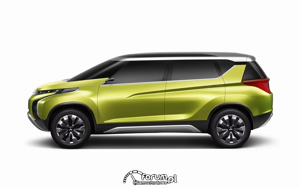 Mitsubishi AR-Concept, bok