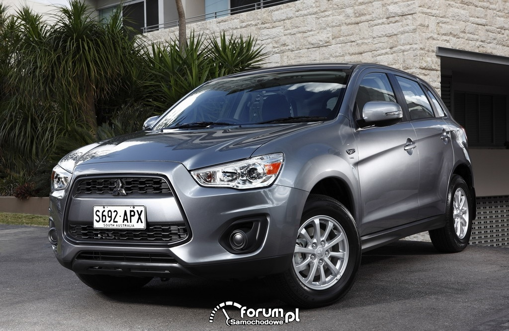 Top Safety Pick dla modeli Mitsubishi ASX i Lancer