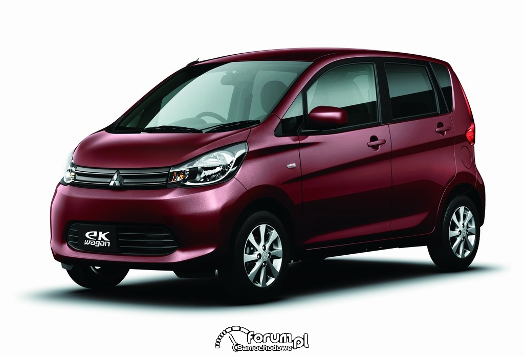 Nowe modele Mitsubishi eK Wagon i eK Custom