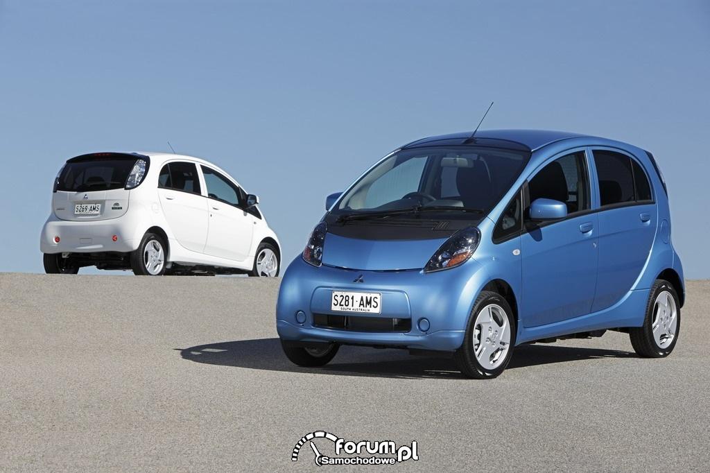 Mitsubishi i-MiEV najlepszym ekologicznym pojazdem
