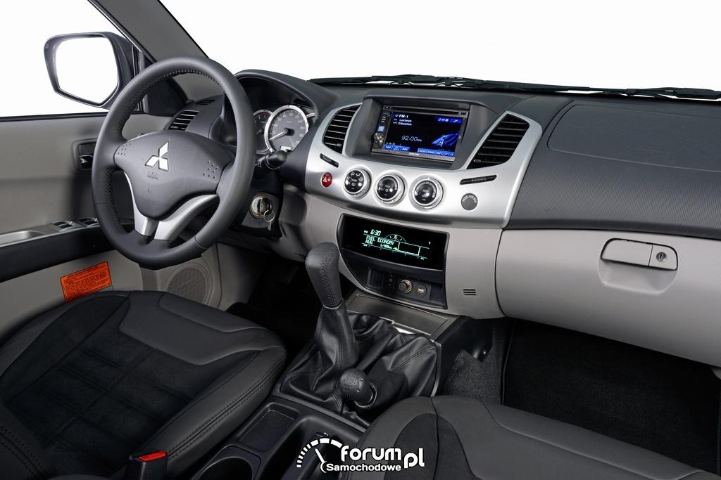 Mitsubishi L200 STORM - limitowana seria pickup'a