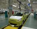 Mitsubishi Mirage - linia montażu samochodów