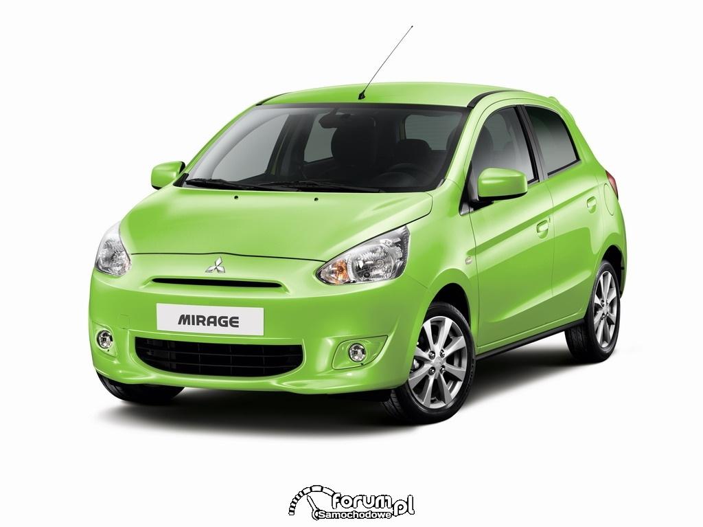Mitsubishi Mirage, zielony
