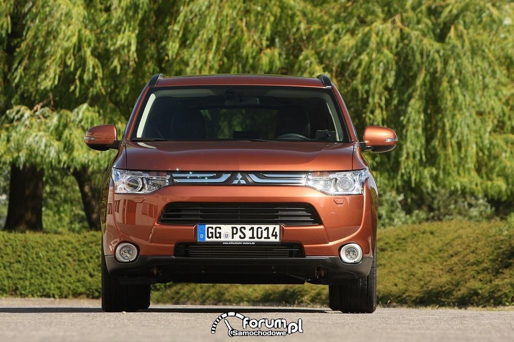 Mitsubishi Outlander - 5 gwiazdek w testach Euro NCAP