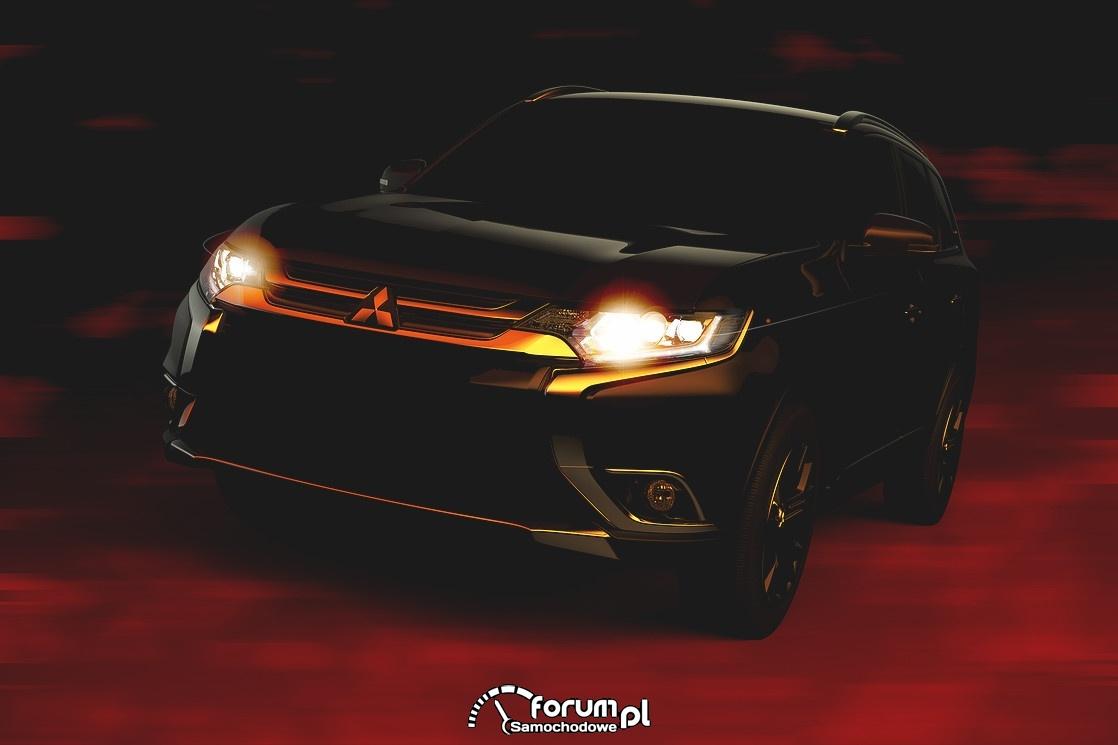 Mitsubishi Outlander 2016, przód