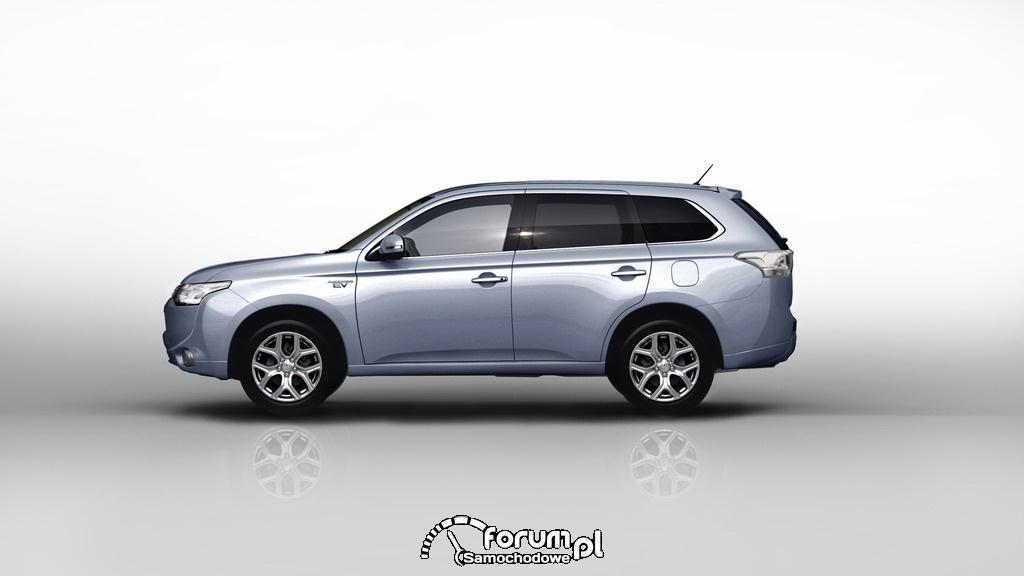 Mitsubishi Outlander PHEV na potrzeby europejskiego odbiorcy