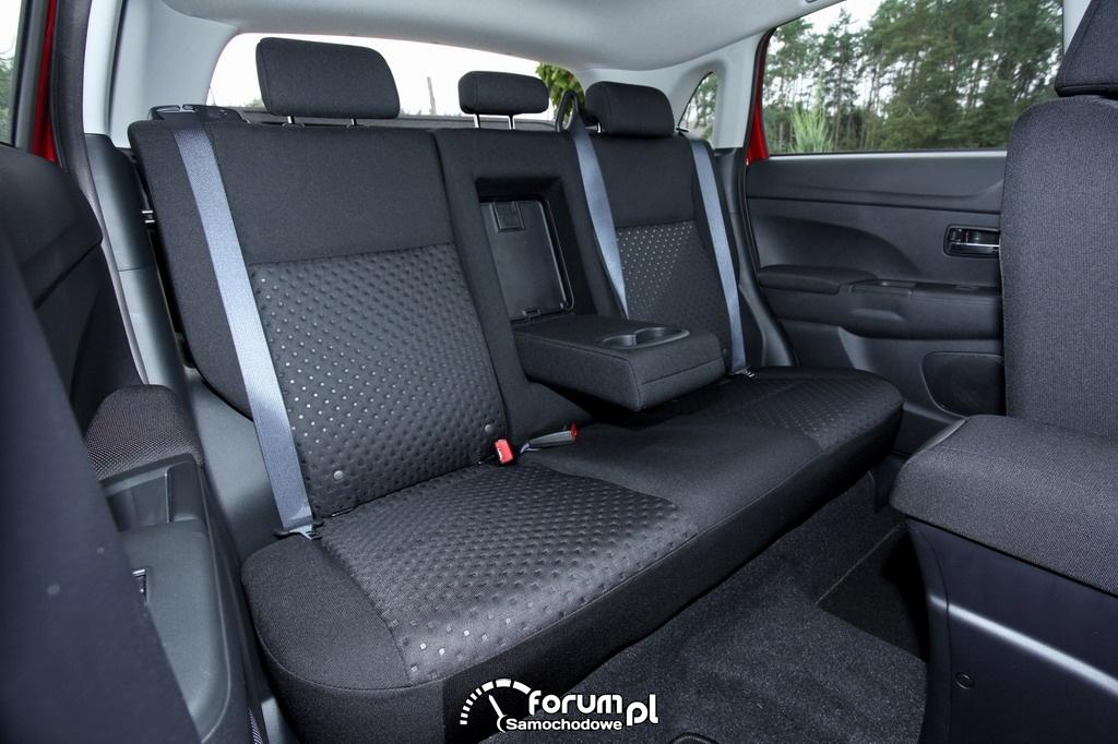 Tylna kanapa - Mitsubishi ASX