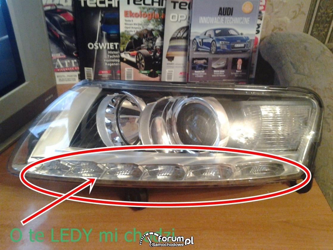 Sprawdzanie oświetlenia LED