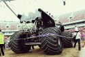 Batman, tył - Monster Truck