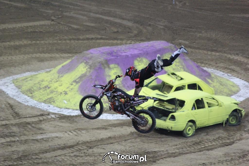 Freestyle Motocross, akrobacje w powietrzu, 15