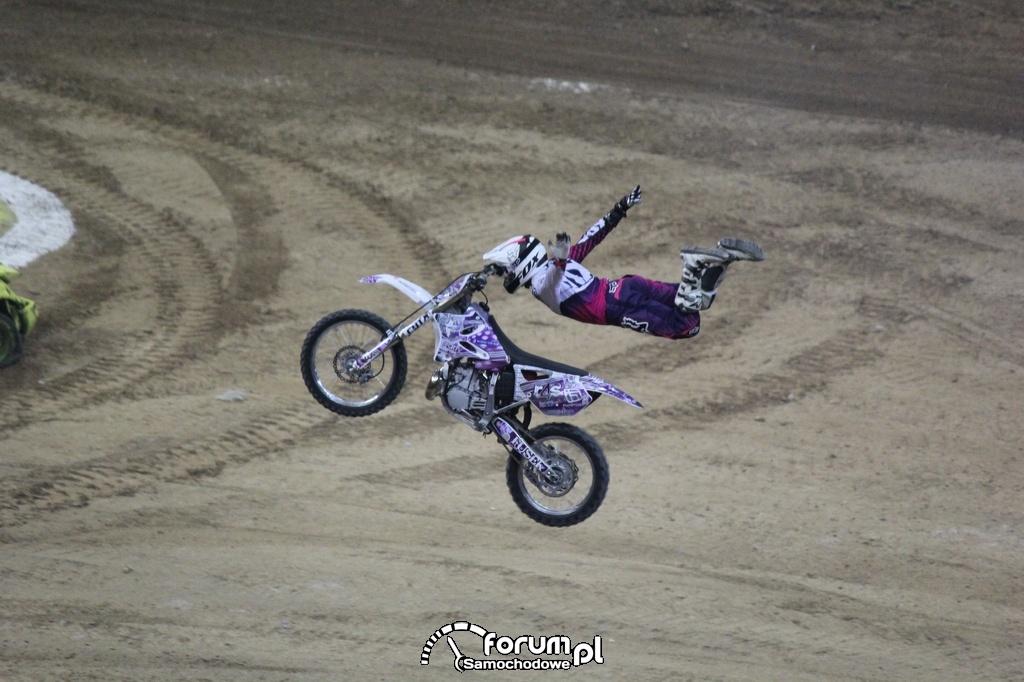 Freestyle Motocross, akrobacje w powietrzu, 16