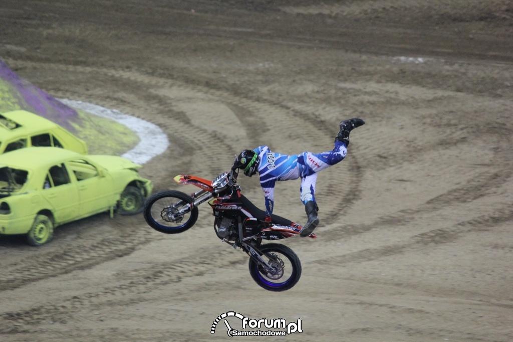 Freestyle Motocross, akrobacje w powietrzu, 2