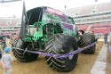 Grave Digger - Monster Truck, tył