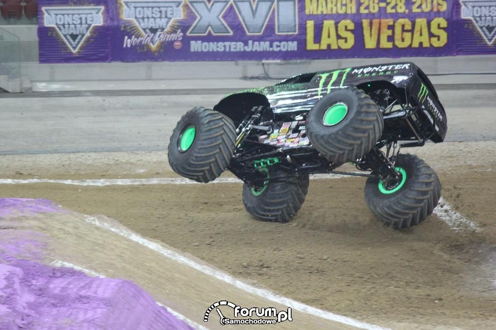 Monster Energy - Monster Truck, na dwóch kołach
