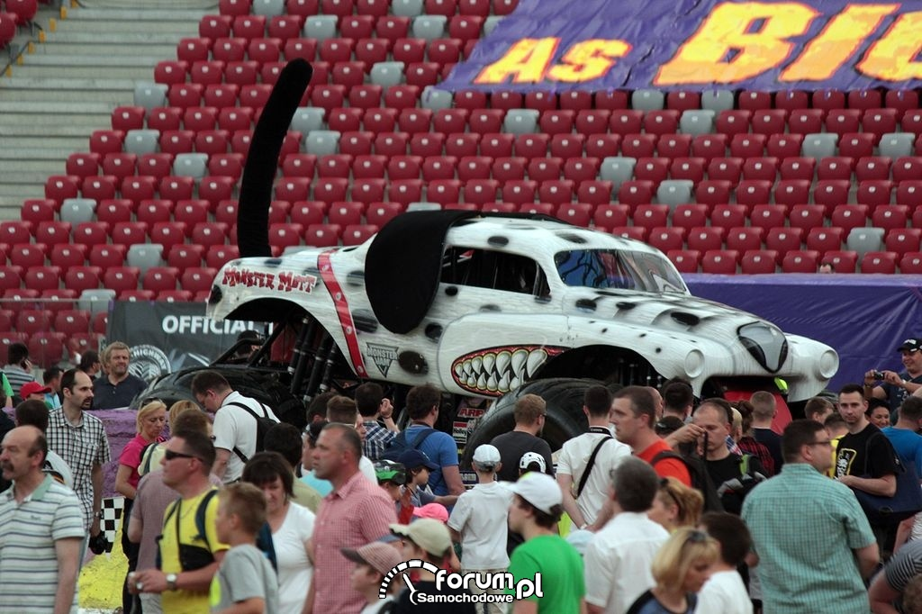 Monster Mutt Dalmatian - Monster Truck na Pit Party
