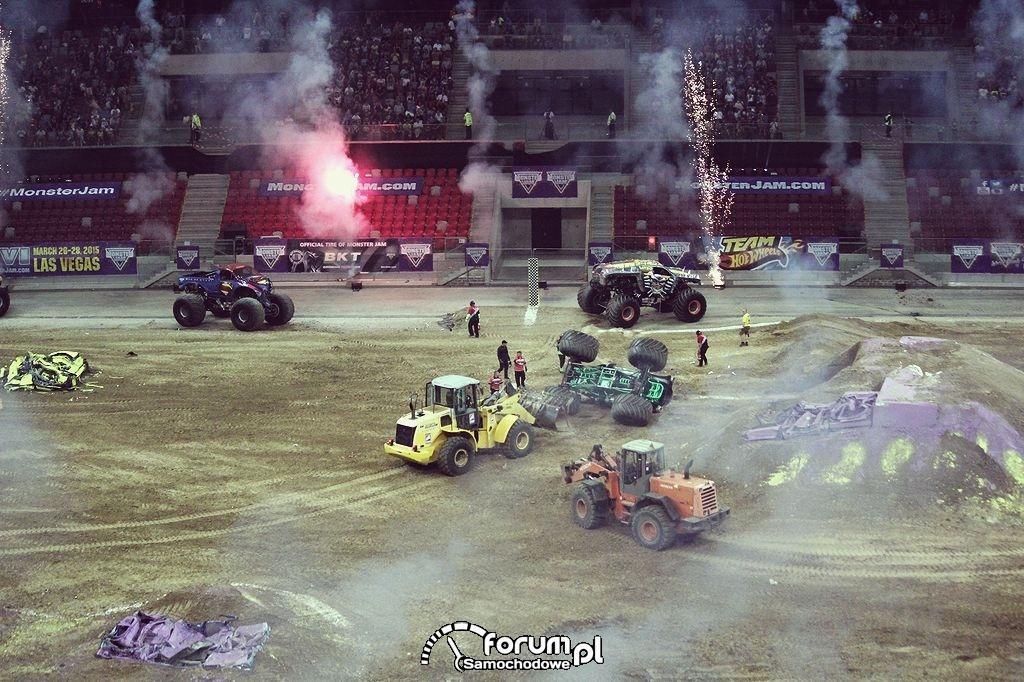 Monster Trucki na Stadionie Narodowym w Warszawie