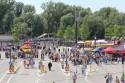 Pit Party Monster Jam przed Stadionem Narodowym w Warszawie