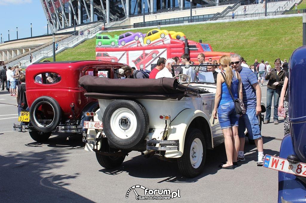 Pontiac 6-29 BIG SIX, tył