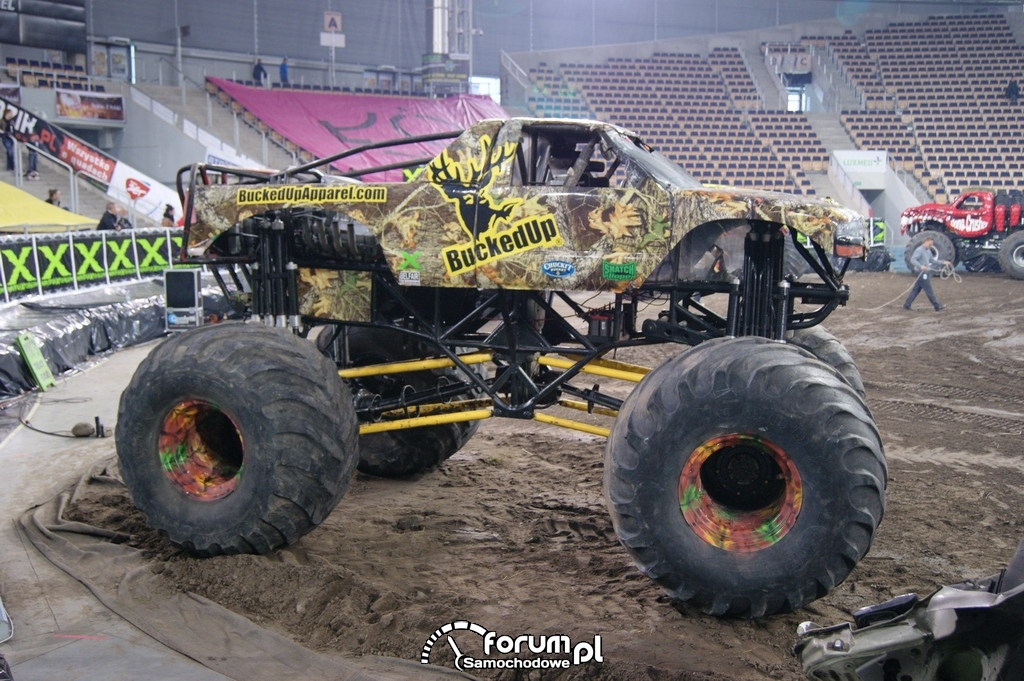 Monster Truck Bucked Up