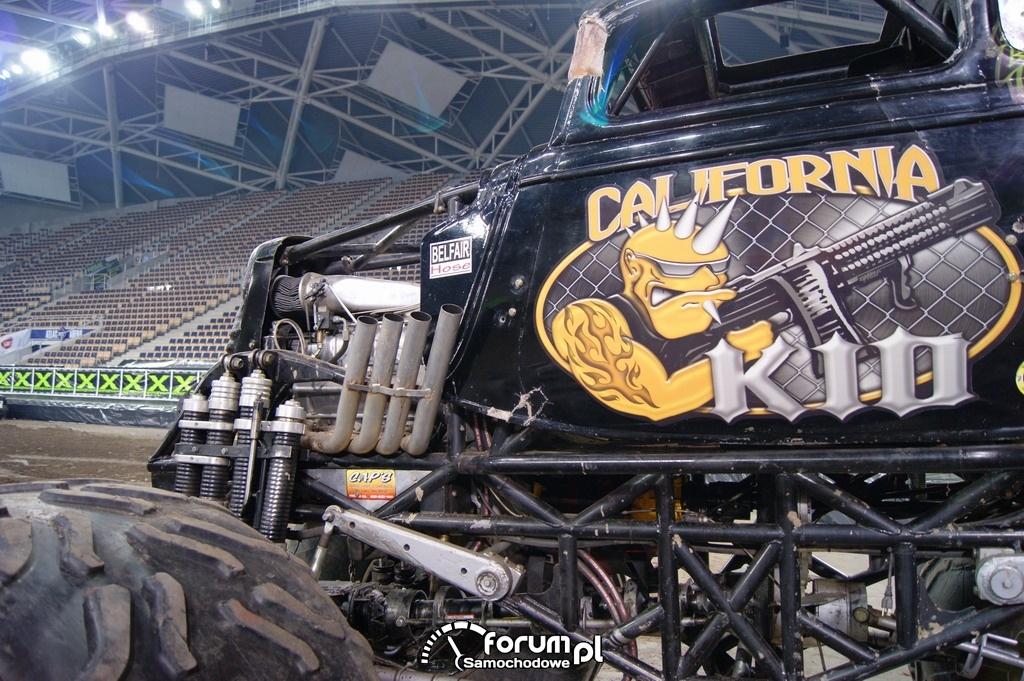 Monster Truck California Kid, silnik