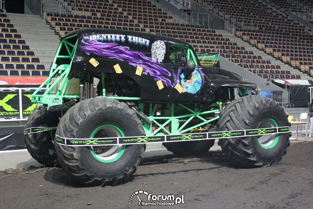Identity Theft - Monster Truck