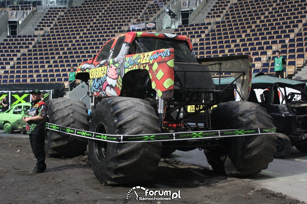 Reverse Racer - Monster Truck