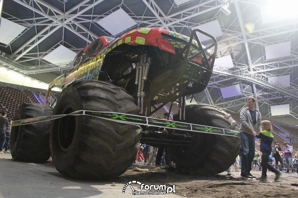 Reverse Racer - Monster Truck, potężny