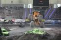 Rock Star - Monster Truck, podczas skoku