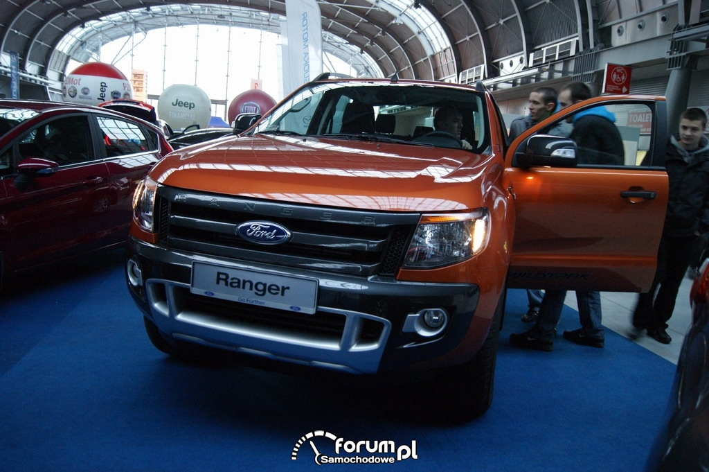 Ford Ranger Wildtrack 4x4, przód