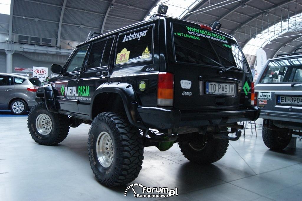 Jeep Grand Cherokee, off-road, 2