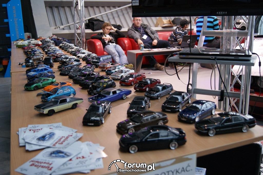 Modele samochodów w mniejszej skali